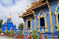 Blue Temple (Wat Rong Suea Tent)