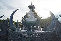 Visit Blue temple (Wat rong suea Tent)