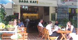 From outside of Dada Kafe