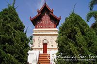 Scripture library Ho Trai at Wat Phra Singh Worawihan