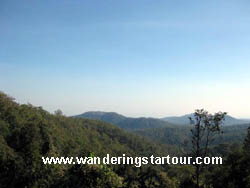 Only walk 5-6 hours. Eco trekking at Doi Inthanon National Park Area (South of Chiang Mai area)