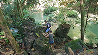 Special Sticky Waterfall, Trekking and Buatong Climbing SD001