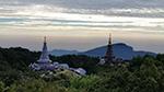 A wonderful scenery of Doi Innthanon National Park at Kiw Mae Pan