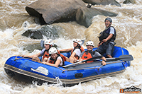 The best 10 kms white water rafting the Mae Tang River to offer.