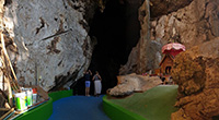 visit hidden cave one of the most peaceful part of hiking trail.